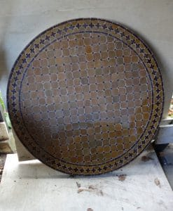 110cm Marokkaanse mozaiektafel simpel
