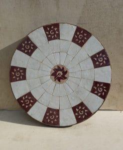 Marokkaanse mozaiektafel