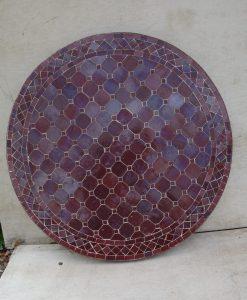 80cm marokkaanse mozaiektafel graveer