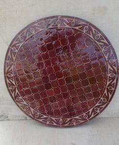 marokkaanse mozaiektafel graveer